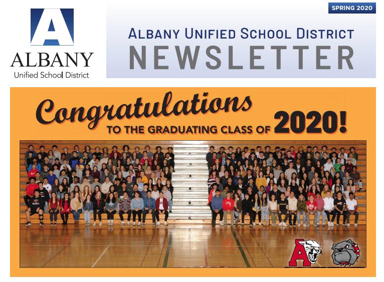 congrats newsletter