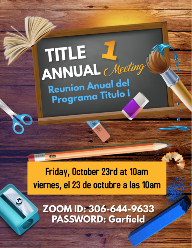 Title 1 Annual Meeting