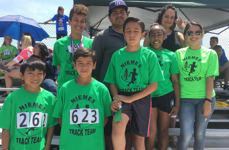 Niemes Track Team