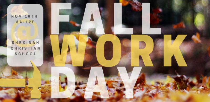 Fall Work Day at Shekinah! | November 16th Thumbnail Image