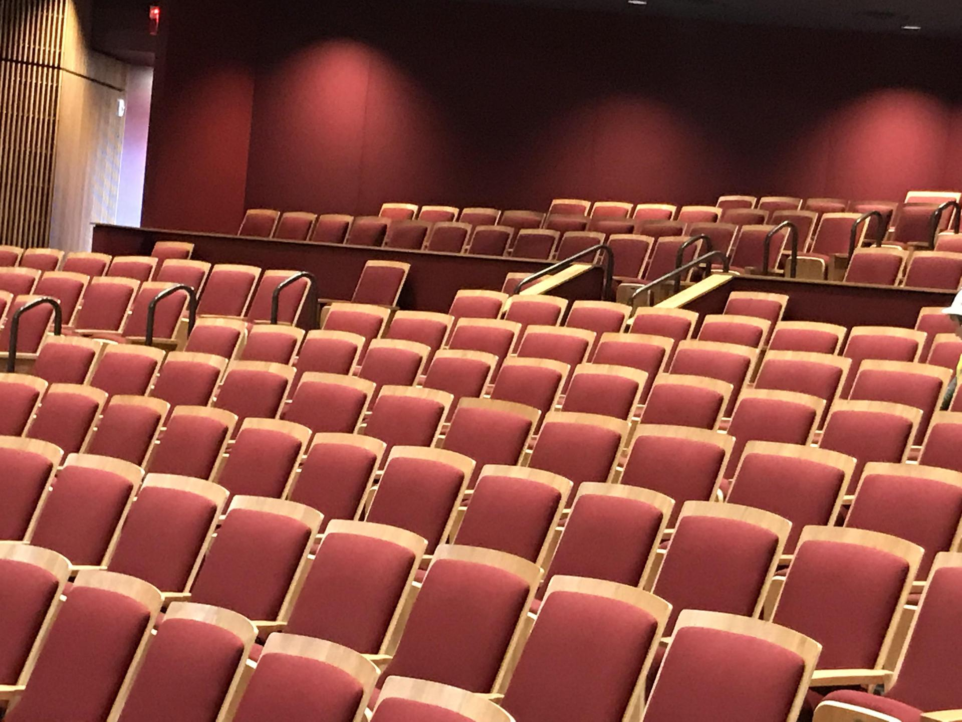 Combs Performing Arts Center Seating