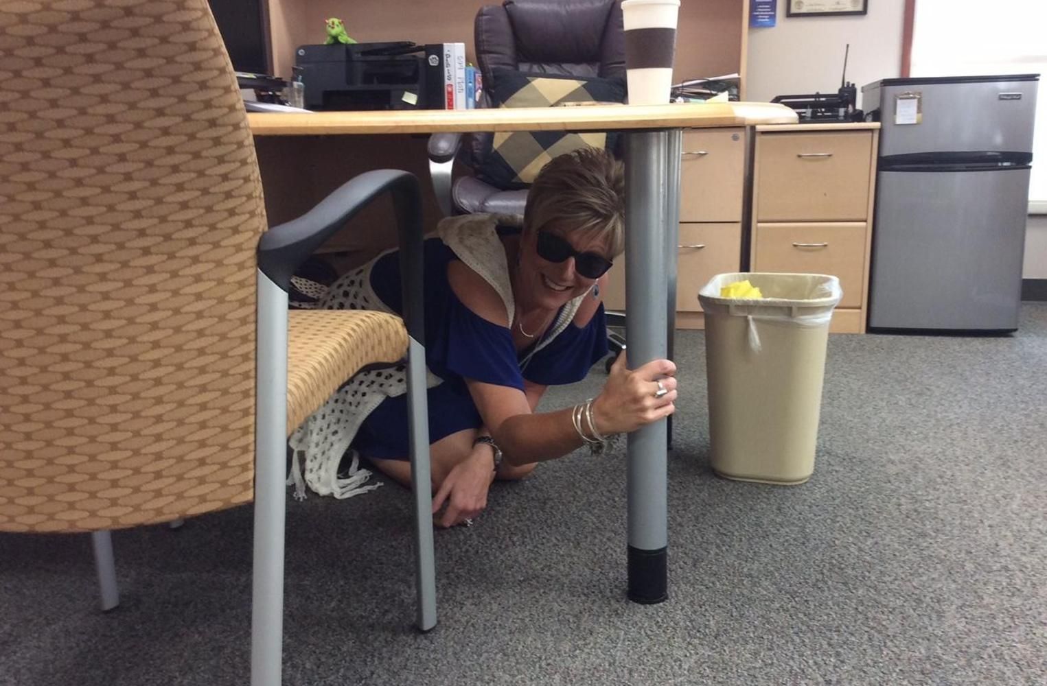 Mrs. B is a great example during the Great Shakeout