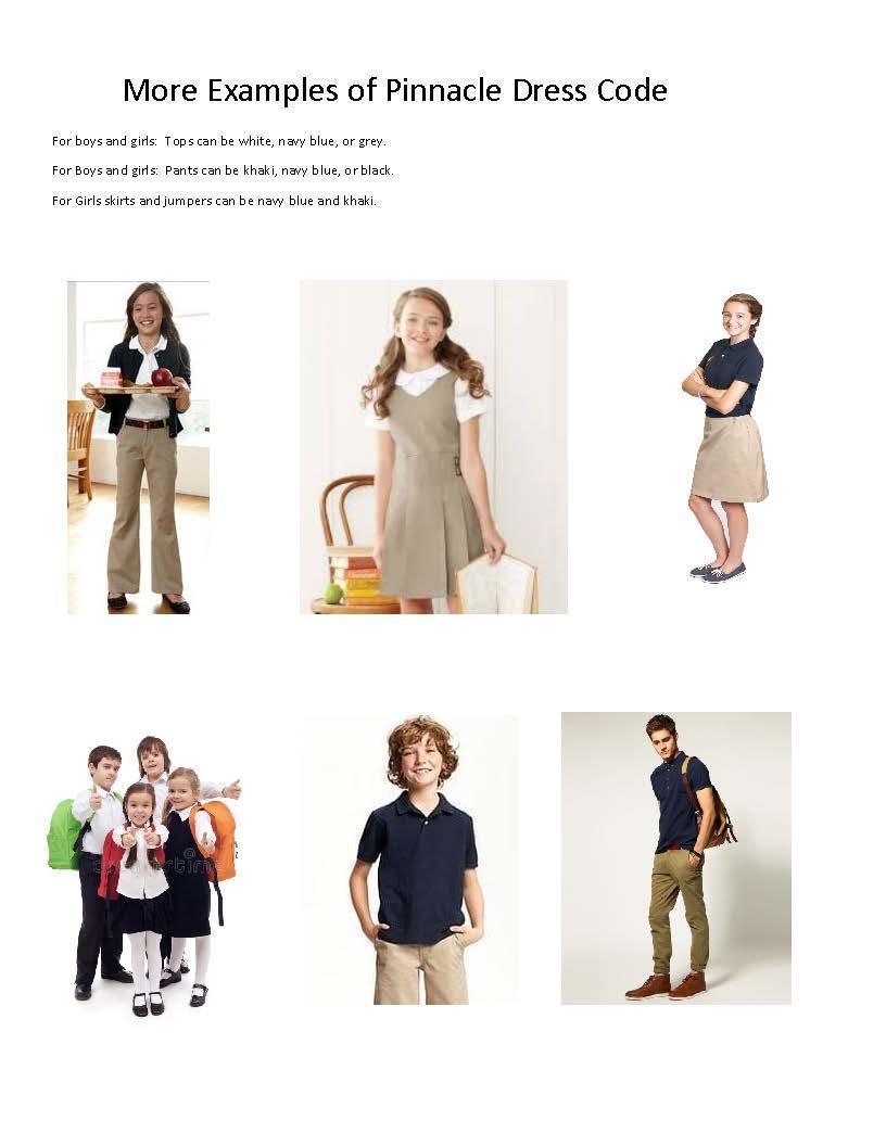 Dress Code Examples