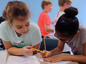 Coding camp for elementary