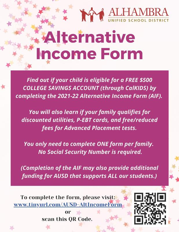 Alternative Income Form Featured Photo