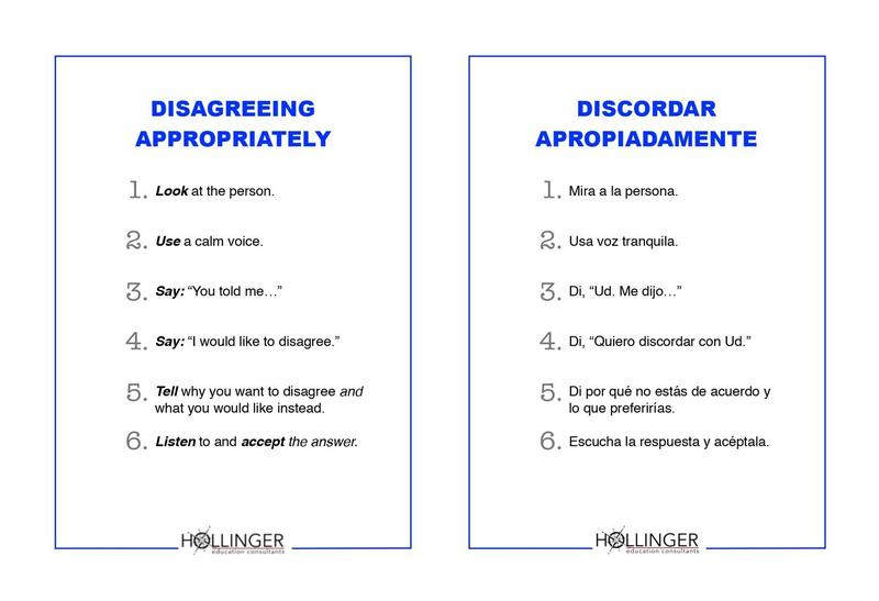 Project RESSPECT: Disagreeing Appropriately/Discordar apropiadamente