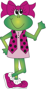 Franny the frog