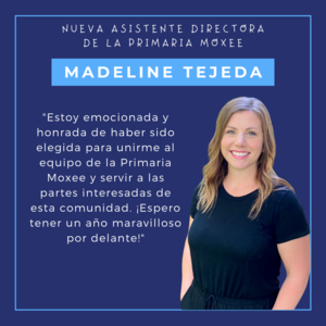 New assistant principal announced for Moxee Elementary Mrs. Tejeda