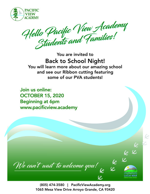 Back to School Night Invitation