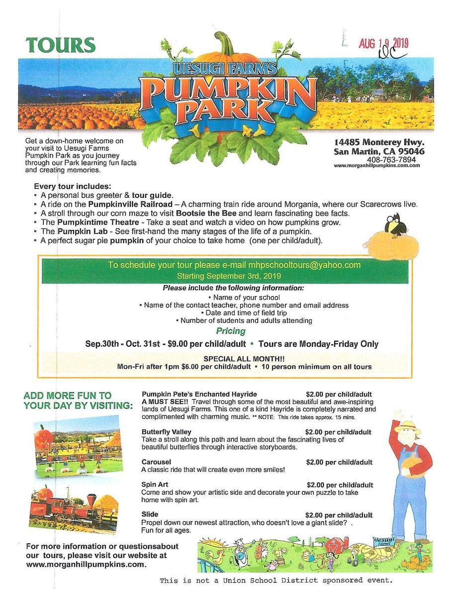 Uesugi Farms Pumpkin Patch
