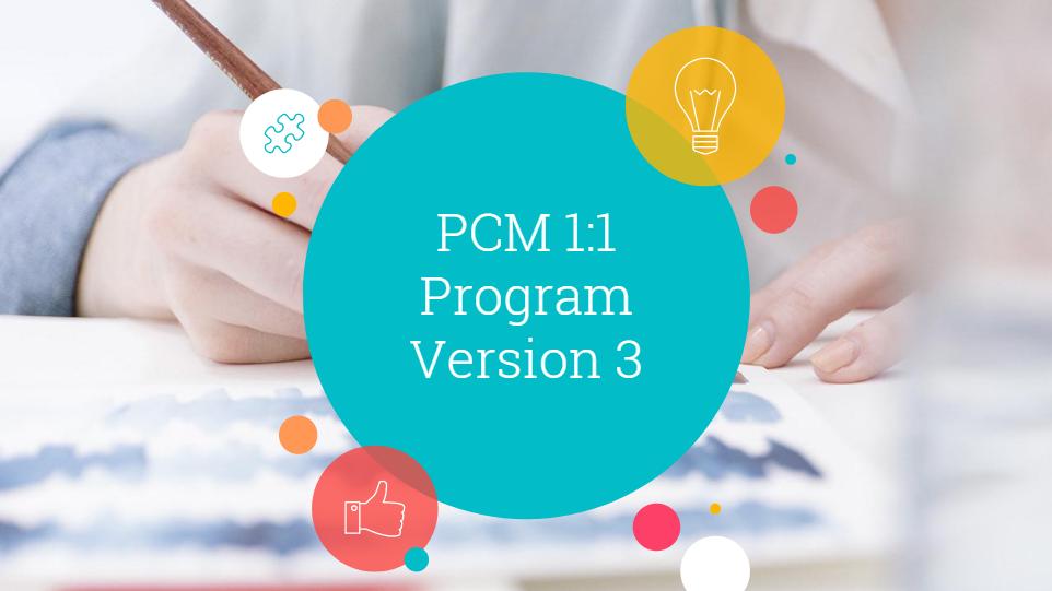 pcm technology presentation slide 1