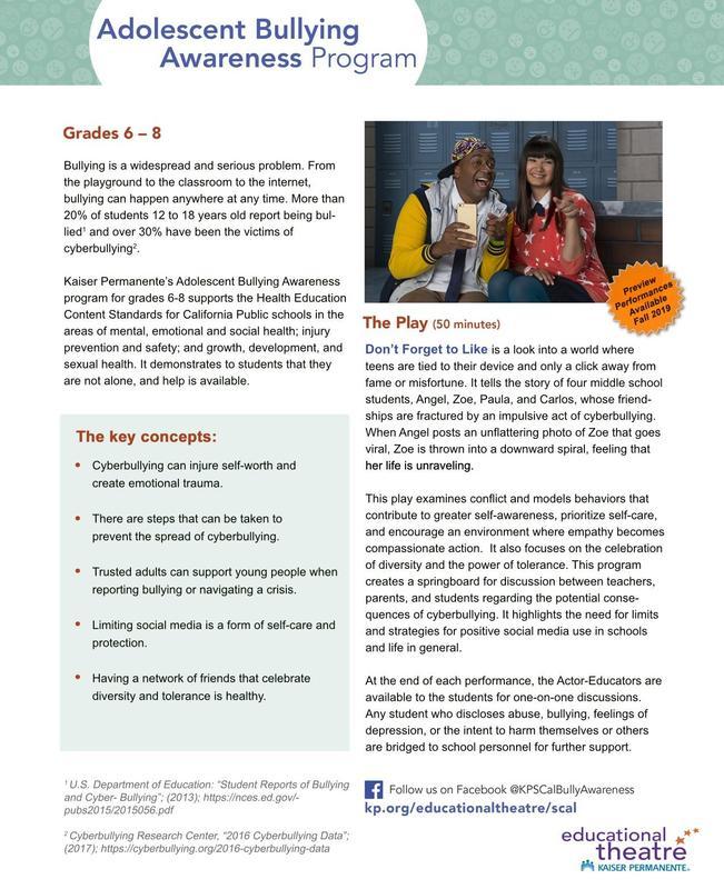 Bullying Prevention Program