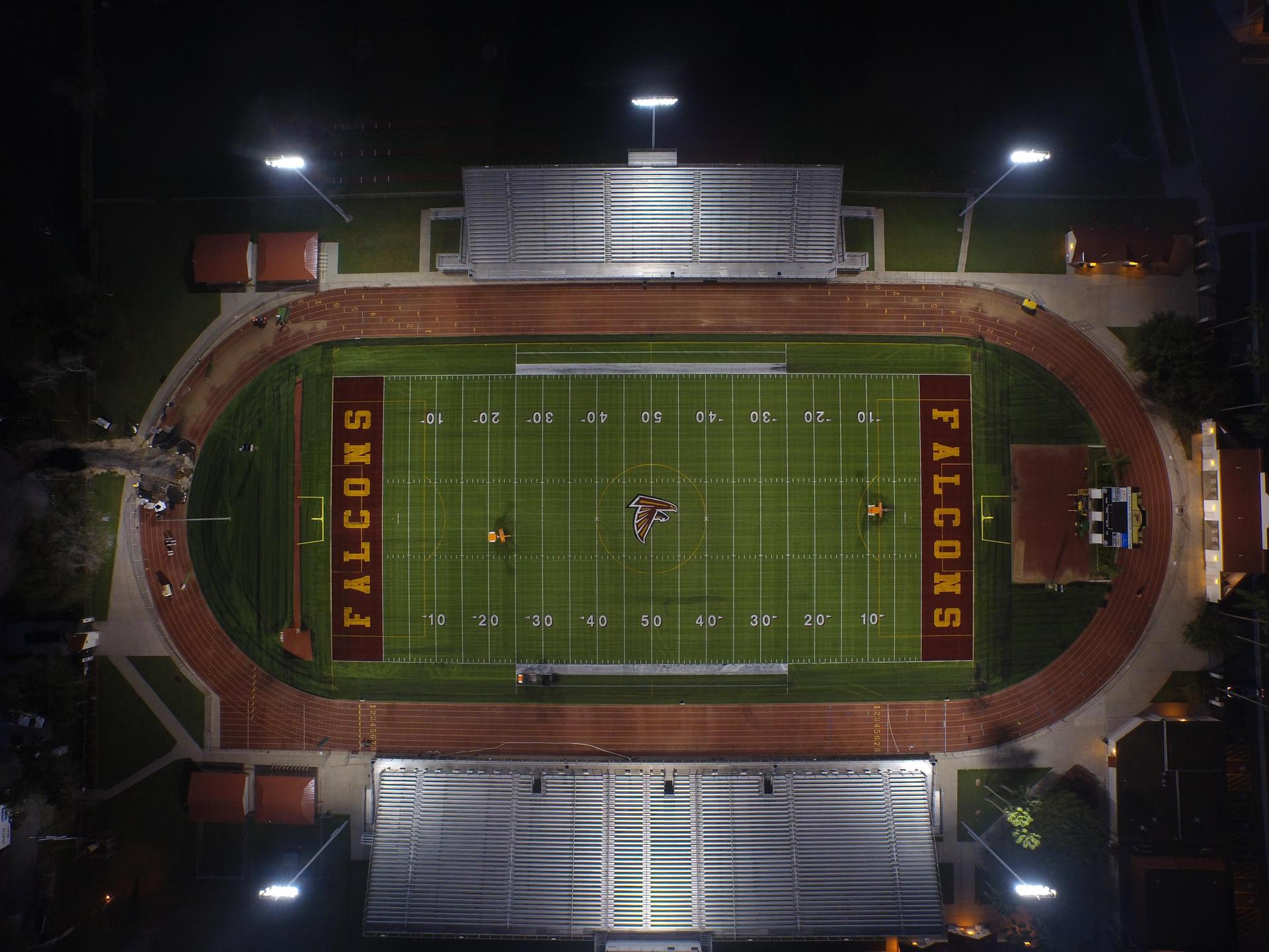 Stadium top view