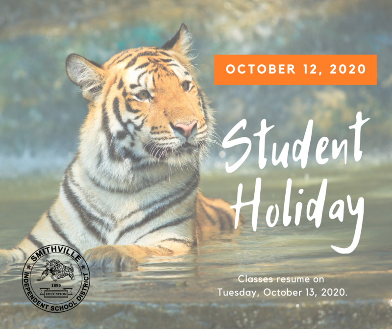 Oct. 12 Student Holiday