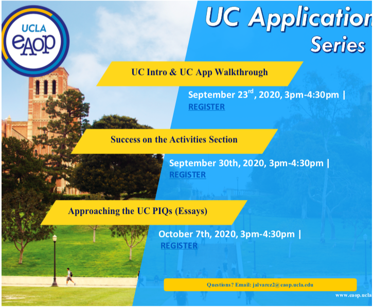 UC Application Sessions