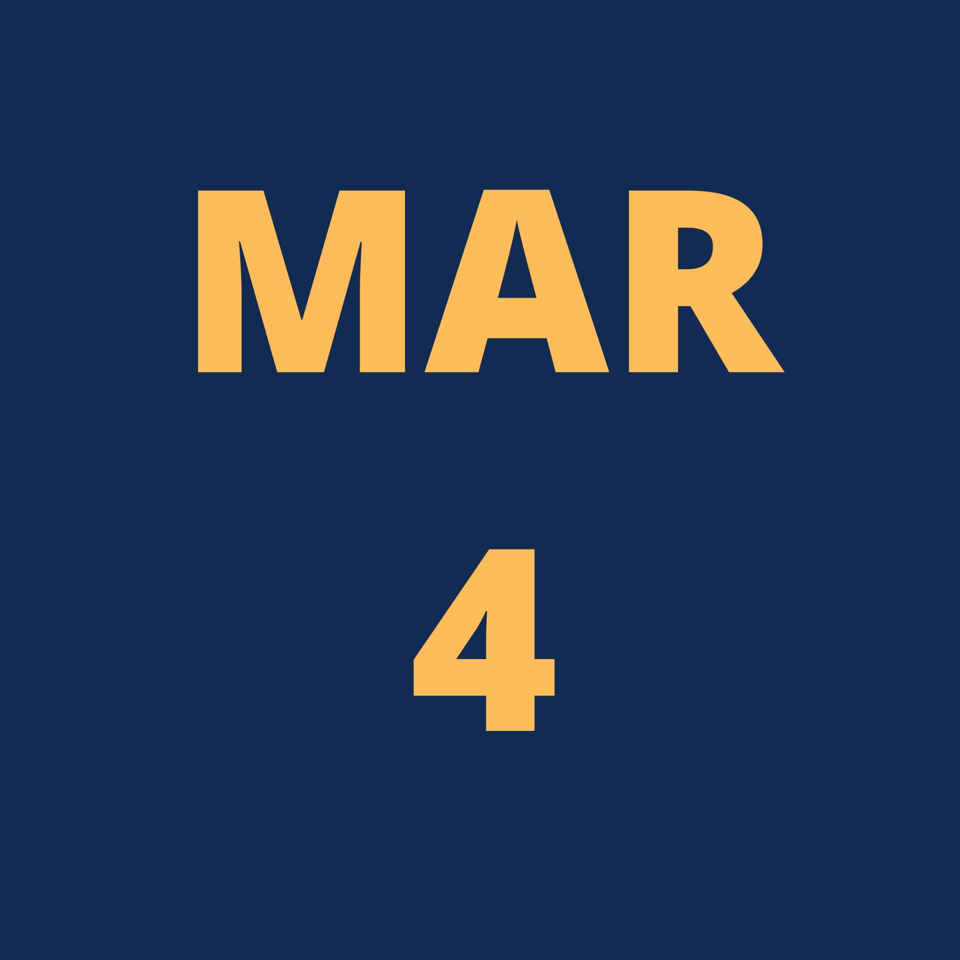 Mar 4 Icon