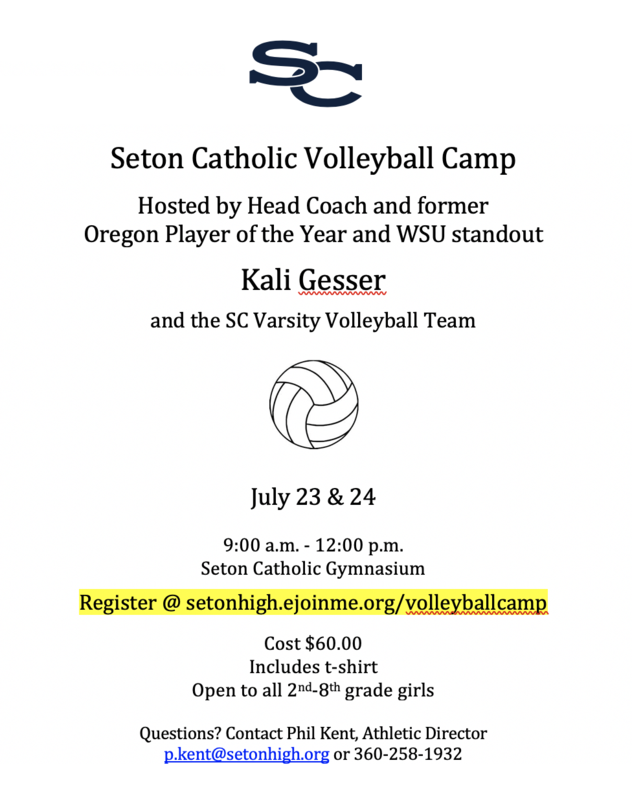 Volleyball Camp! Featured Photo