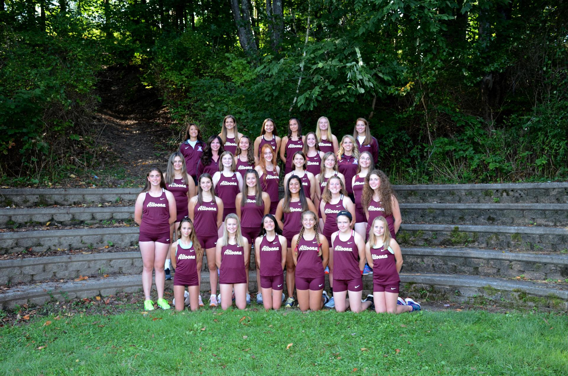 2019 Girls Cross Country Team