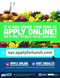 Lunch form flyer