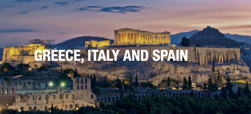 CHS Student Trip to Greece, Spain, and Italy Featured Photo