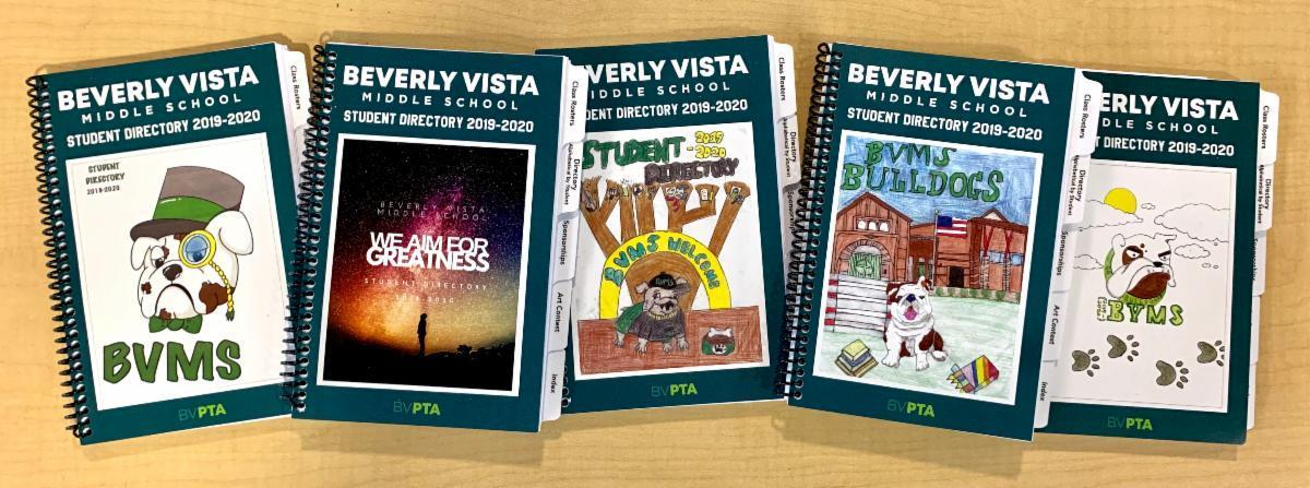 Student Directory Cover Winners