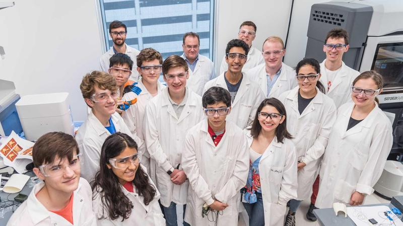 Luke Abrahams - Biomaterials Lab Internship