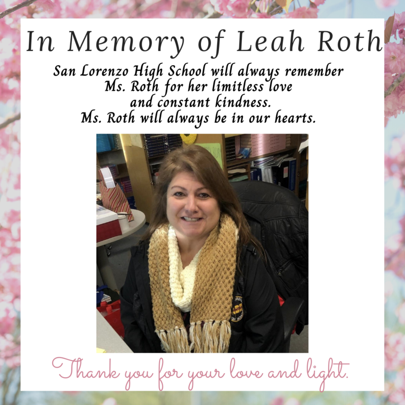 In Memory of Leah Roth Featured Photo