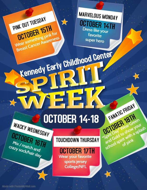 Kennedy Early Childhood Center Spirit Week Homecoming 2019  #It'sComeBackTime