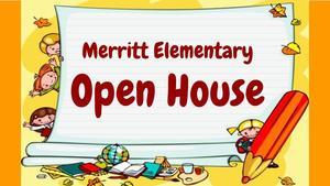 merritt open house clipart
