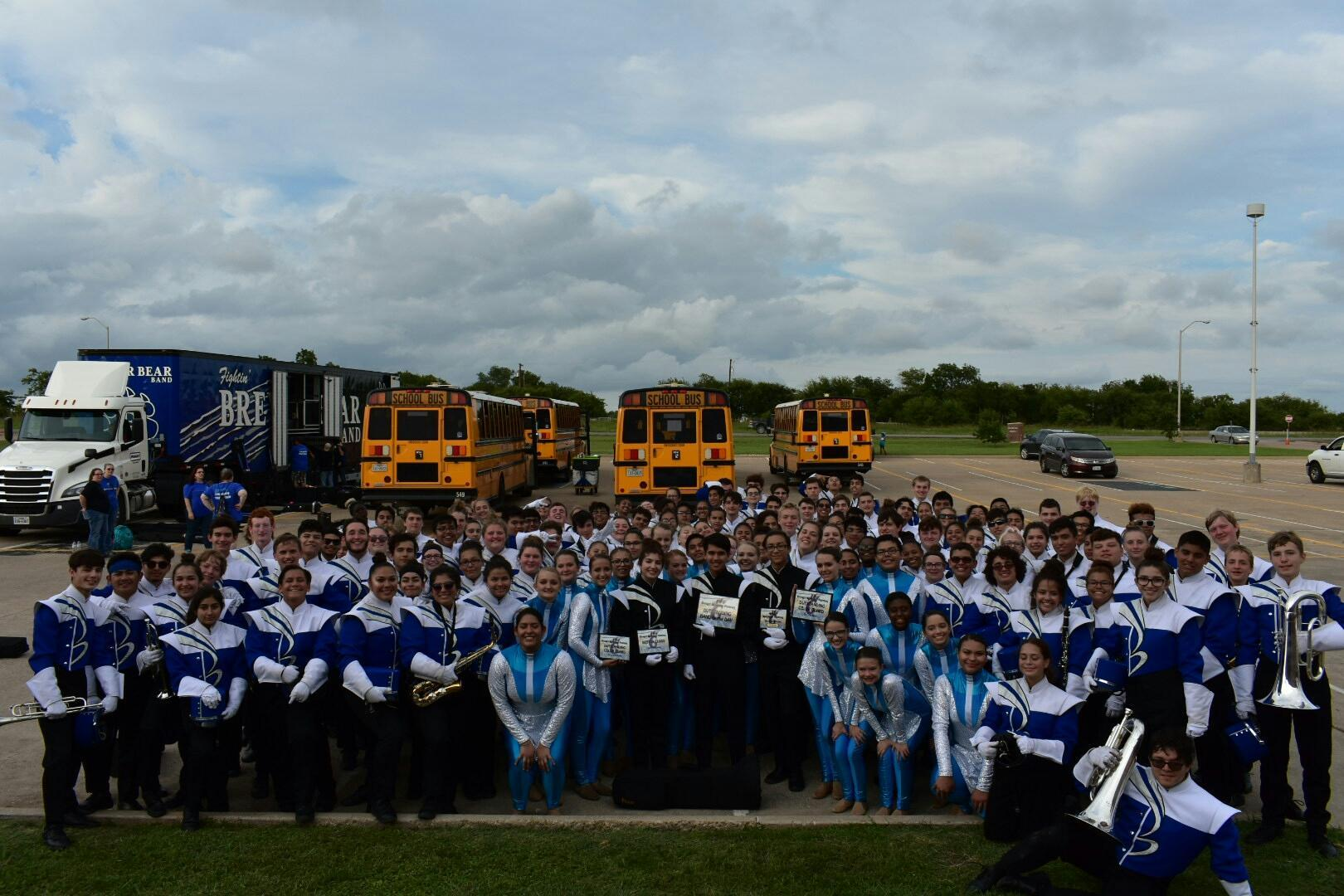 BHS at Wildcat Marching Festival in Godley