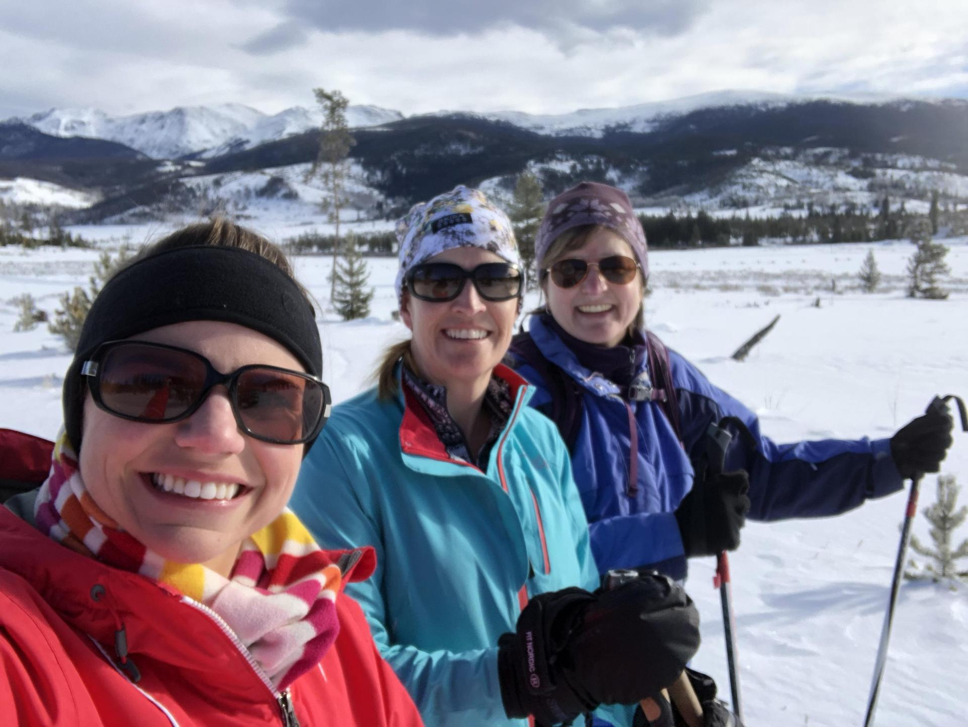 Skiing with Ms. Cutshall and Ms. Wagner, 2019