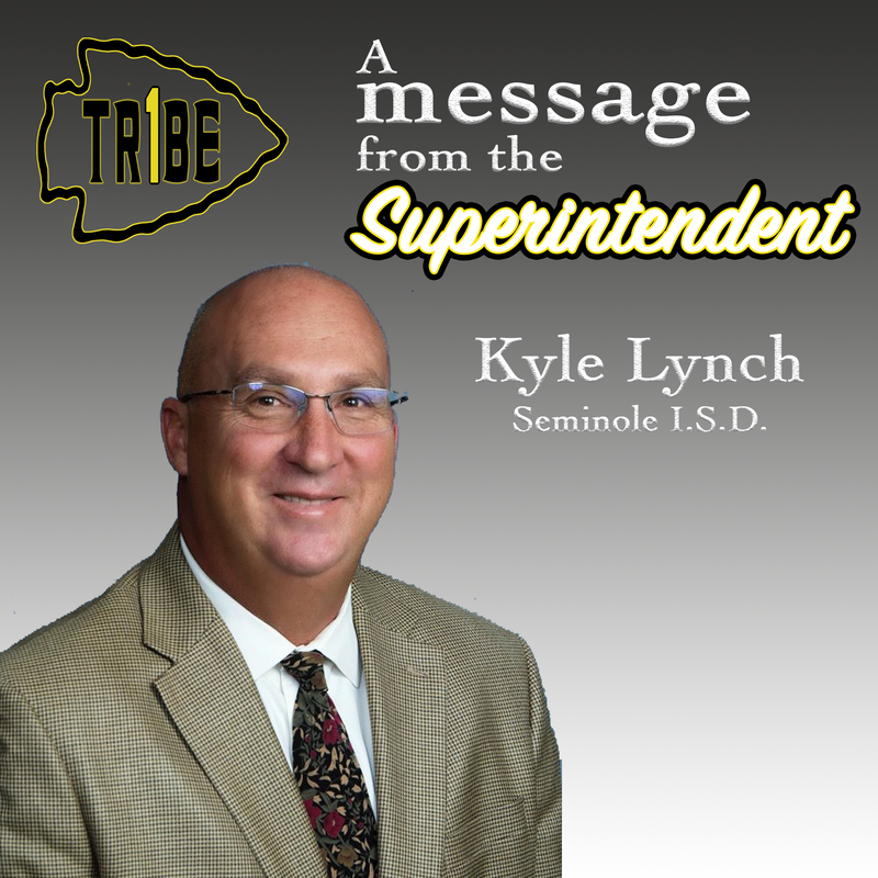 Kyle Lynch_Message from Supt.