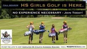 HS Girls Golf Team