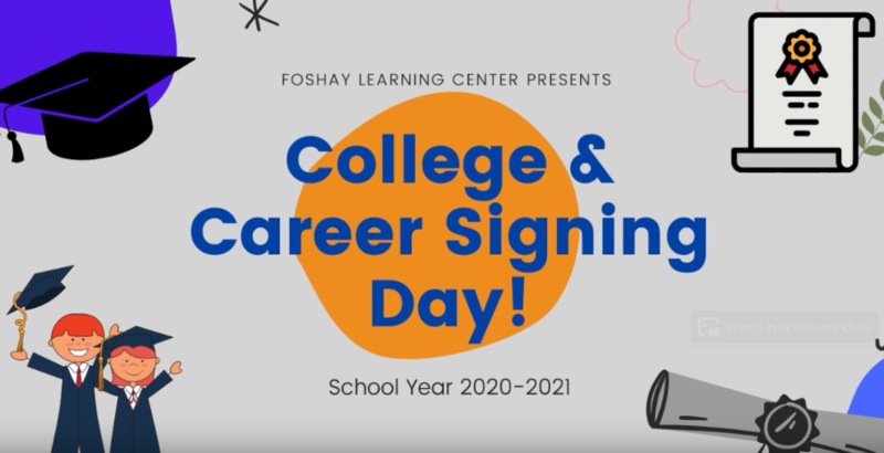 Celebrate our Foshay Class of 2021: College and Career Signing Day Video Featured Photo