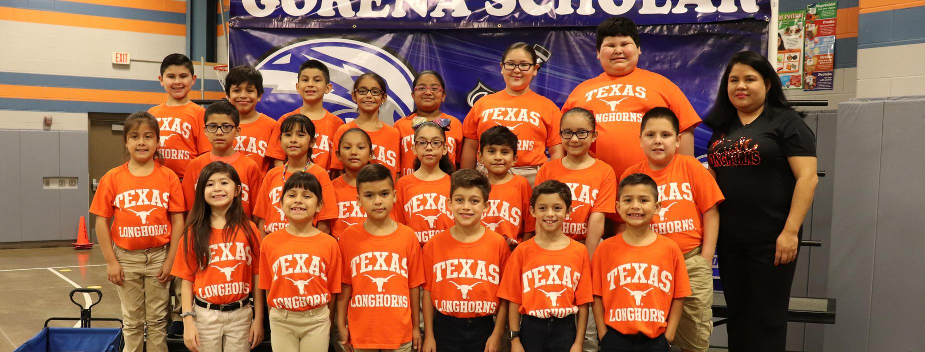 picture of Ms. Trevino's class
