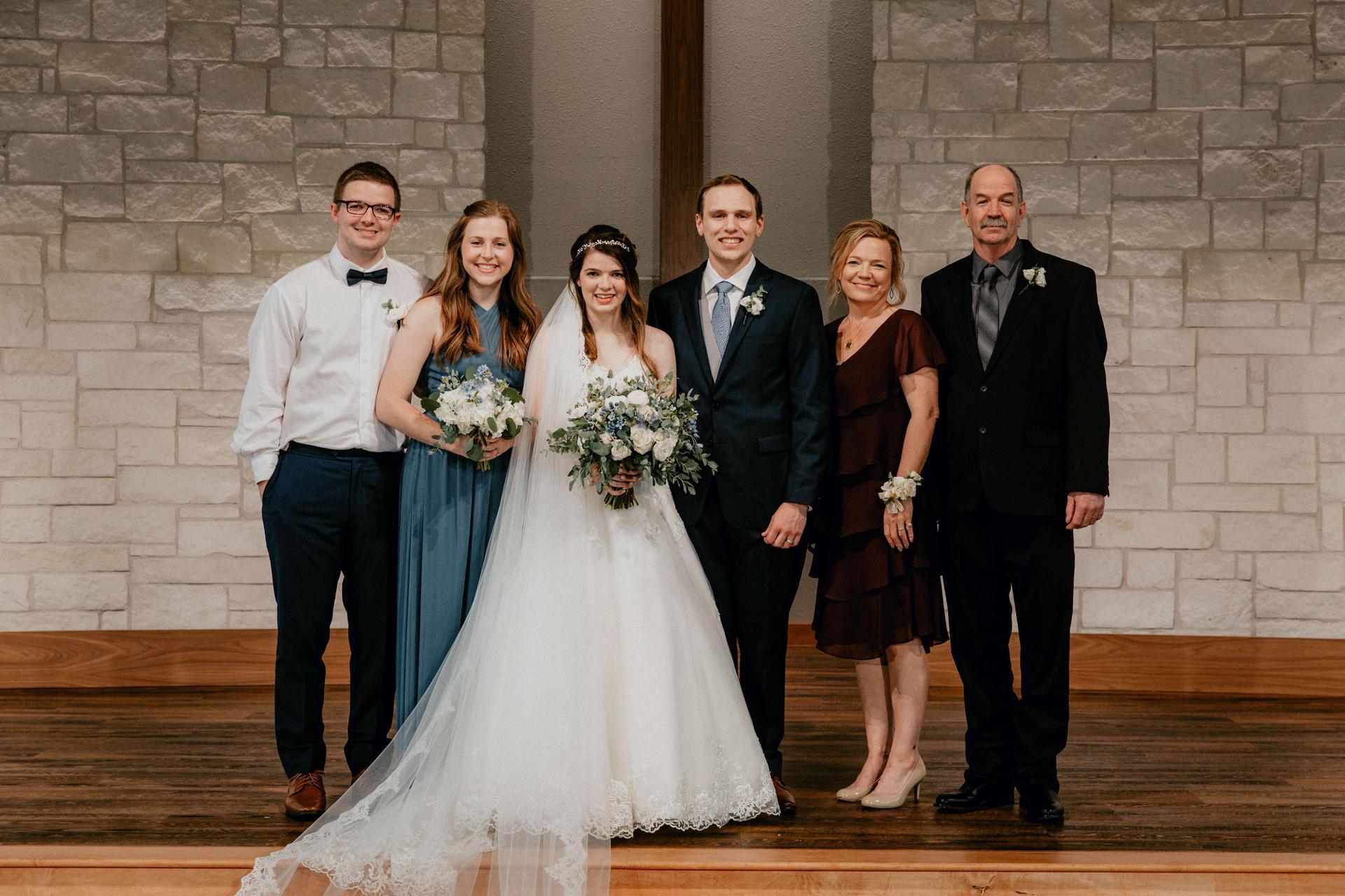 Photo of Mrs. Sanders' family