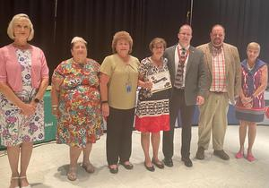 Susan Maupin and Board Members