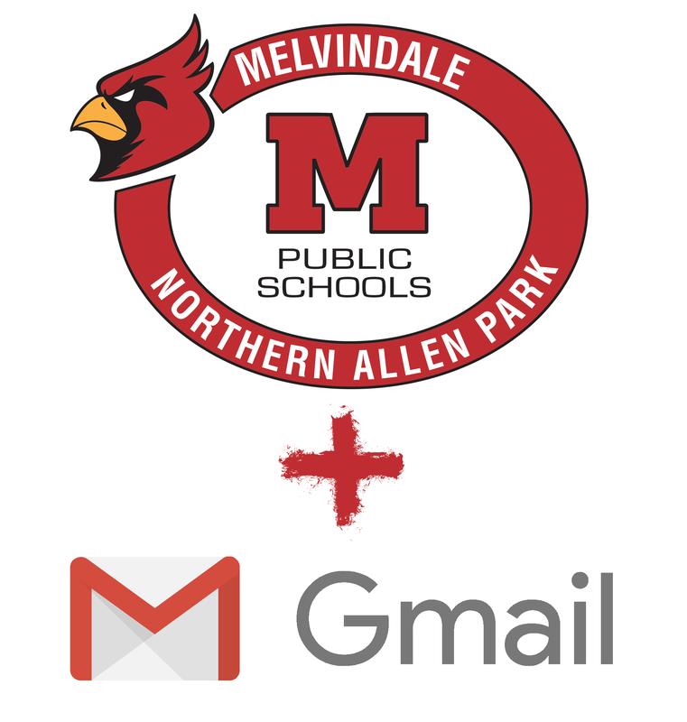 MelNAP Logo + Gmail Logo