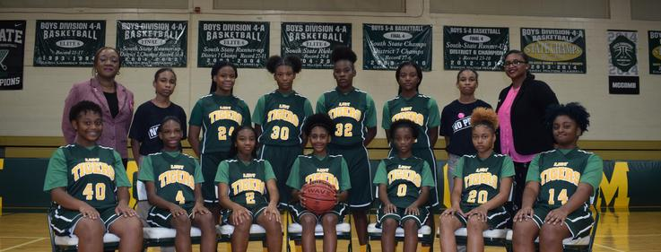 Denman Junior High Girls Basketball Team 2019