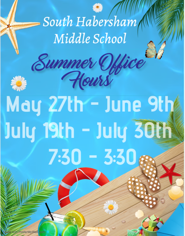 Summer Office Hours 2021