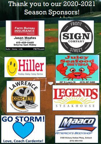 2020-2021 Season Sponsors