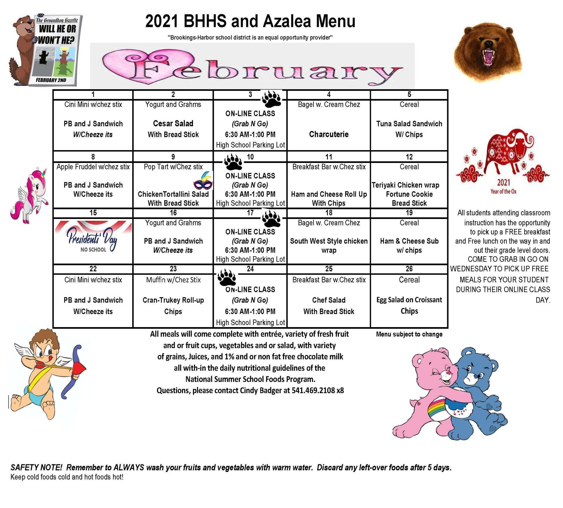 BHHS and AMS Feb 2021
