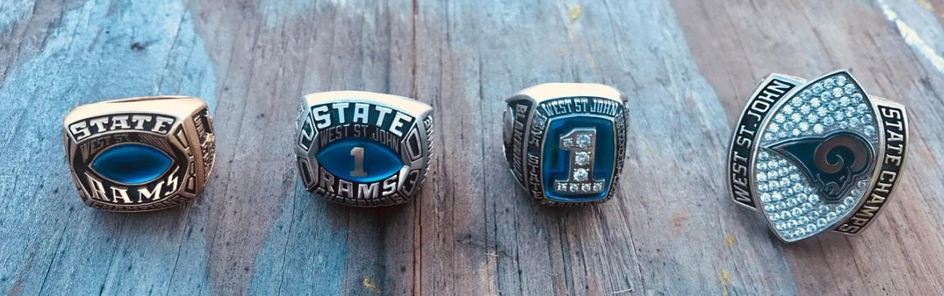 Football State Championship Rings