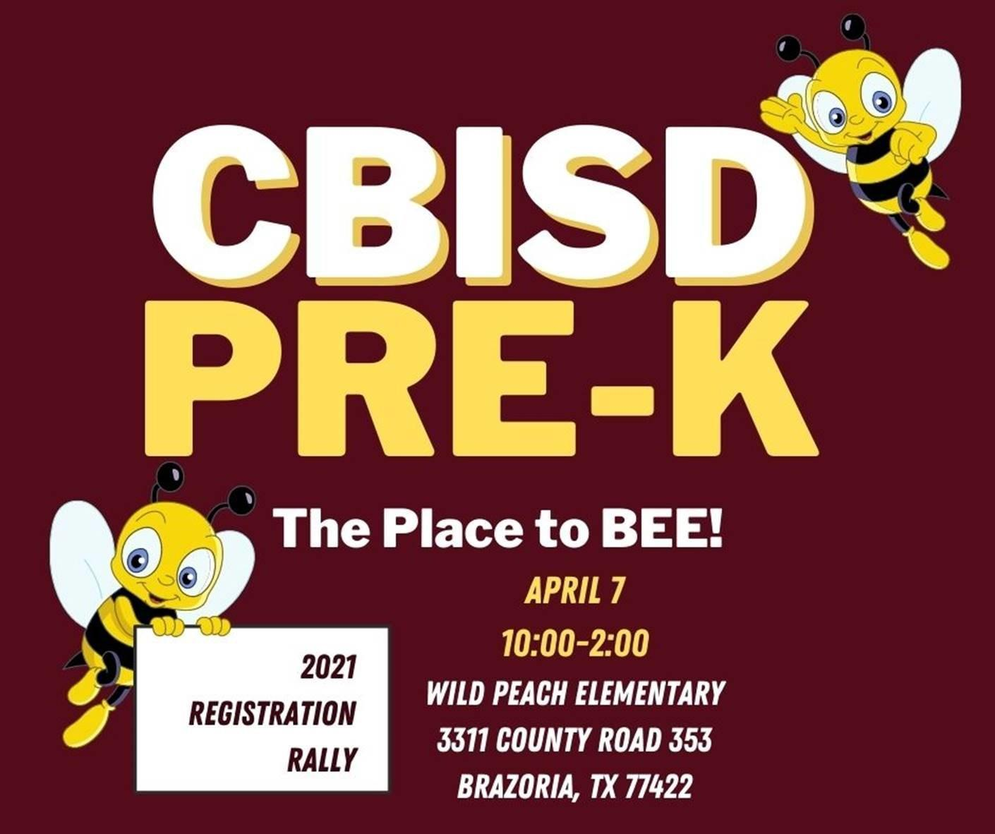 CBISD Pre-K The Place to BEE