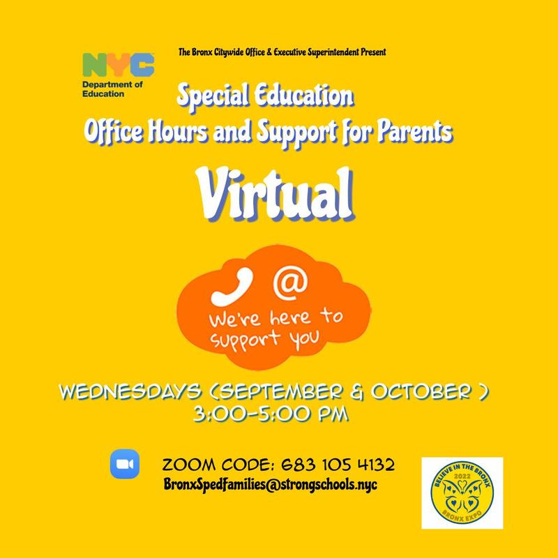 Special Education Online Support for Families Featured Photo