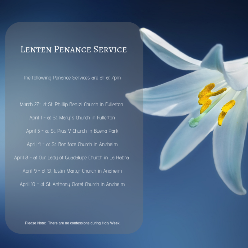 Penance Services Featured Photo