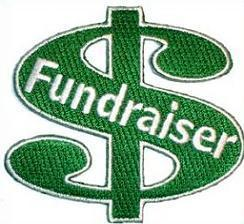 money sign graphic fundraiser money due