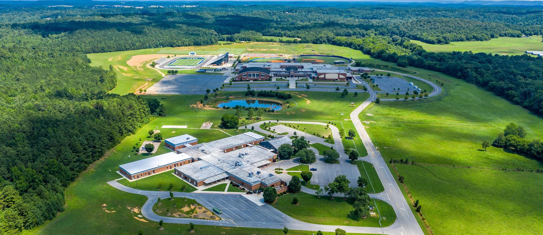 Cass High School and White Elementary School