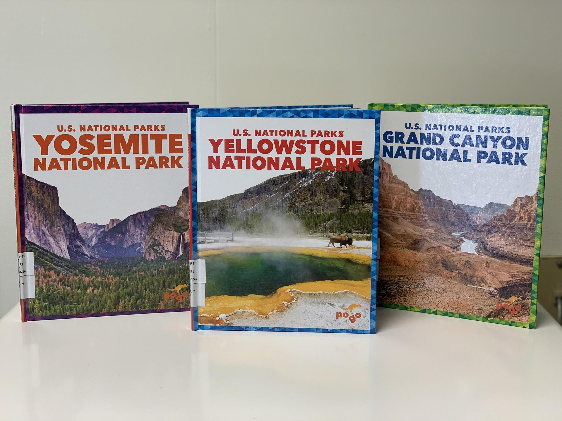 National Parks Books