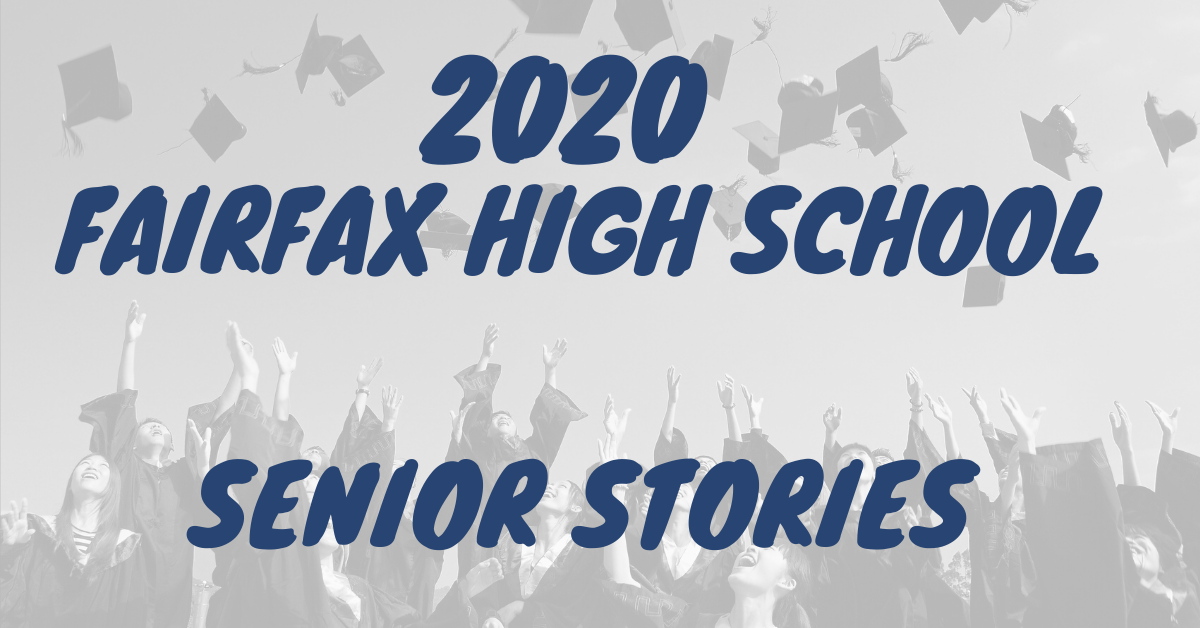 graphic of senior story title
